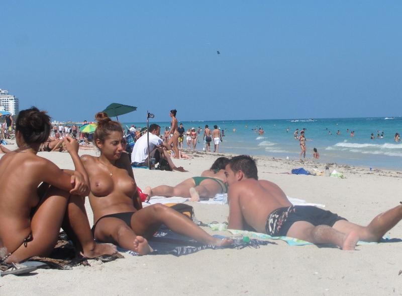 naked at bike rallys